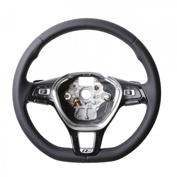 VW Lenkrad Golf 7 Passat B8 Arteon Amarok Caddy Touareg Sharan nur Nappa Naht schwarz