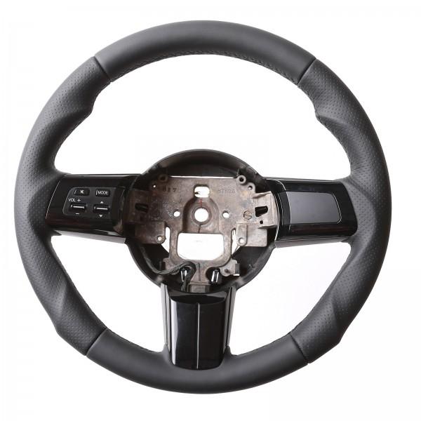 Mazda Lenkrad MX5 Tuning Kombibezug Naht schwarz