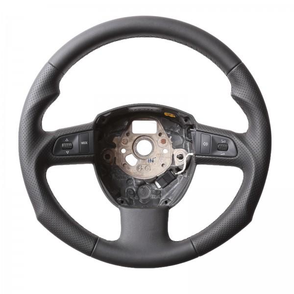 Seat Lenkrad Exeo ST Multifunktionslenkrad Tuning Kombibezug Naht schwarz