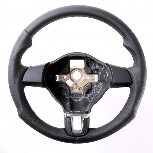 VW Lenkrad Golf 6 Caddy Tiguan Touran Sharan Tuning Kombibezug Naht schwarz