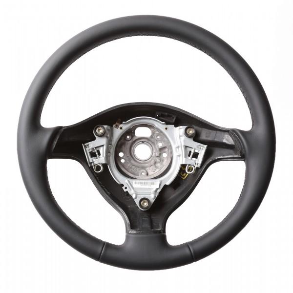 VW Golf 4 Passat 3B 3BG Bora Seat Leon Klassisch Naht Schwarz nur Nappa