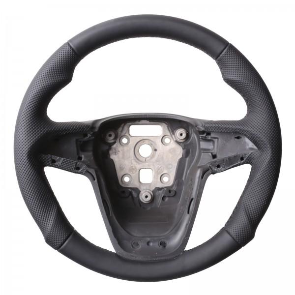 Opel Lenkrad Astra J Zafira C Insignia Tuning Kombibezug Naht schwarz