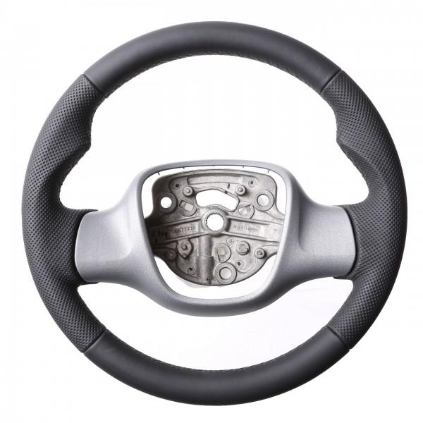 Smart Lenkrad Fortwo Turbo Sport Daumenauflagen Kombibezug Naht schwarz