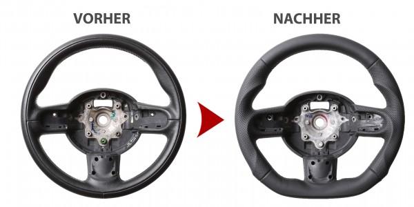 Mini One Mini Cooper R55 R56 R57 Tuning Abgeflacht Naht Schwarz