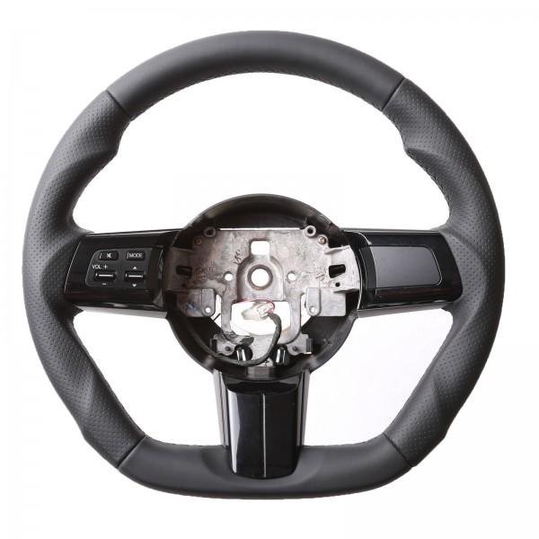Mazda Lenkrad MX-5 Nappa Abgeflacht Kombibezug Naht schwarz