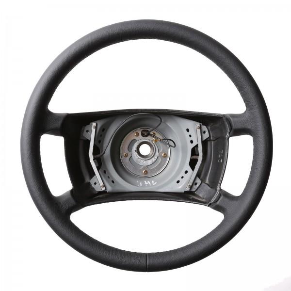 Mercedes Lenkrad W123 124 126 R107 nur genarbt Naht schwarz
