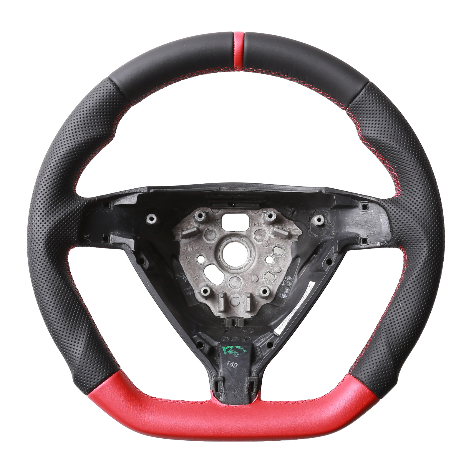 porsche lenkrad 911 997 boxster cayman bicolor schwarz rot. Black Bedroom Furniture Sets. Home Design Ideas