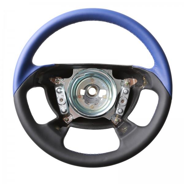Mercedes Lenkrad CLK W208 SLK R170 Cabrio Bicolor blau Naht blau