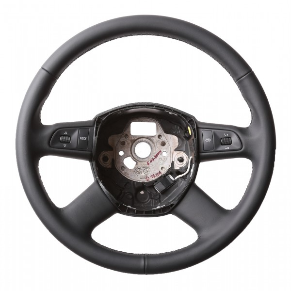 Audi Lenkrad A3 A4 A6 A8 Q5 Q7 Klassisch nur Nappa Naht schwarz