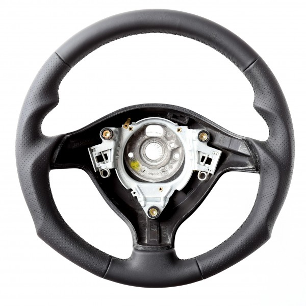 VW Lenkrad Golf 4 Passat 3B 3BG Seat Leon Tuning Naht Schwarz