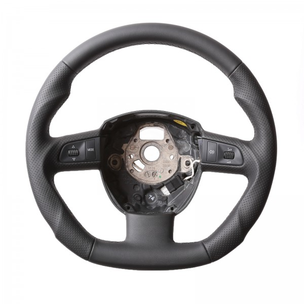 Seat Lenkrad Exeo Seat Exeo ST Abgeflacht Kombibezug Naht schwarz